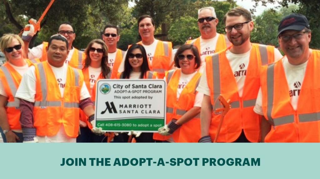 join the adopt-a-spot program