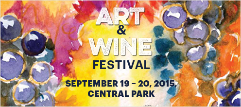Art and Wine Festival. September 19-20, 2015. Central Park.