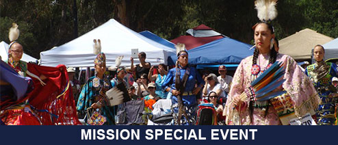 MISSION: Native American Drummers and Dancers