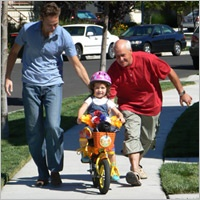 Early Learning: Learning to ride a bicycle