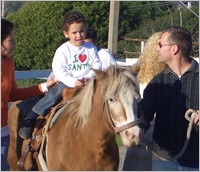 Becoming A Family: Riding a Horse