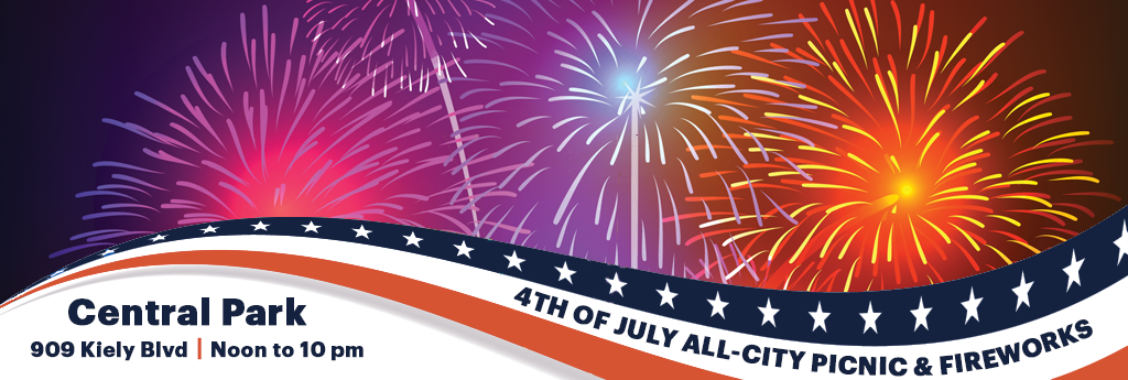 4th of July Homepage Banner