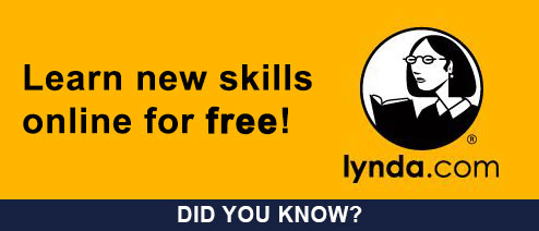 Access to Lynda.com!