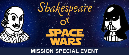 Shakespeare or Space Wars Presented by Samuel Peaches' Peripatetic Players