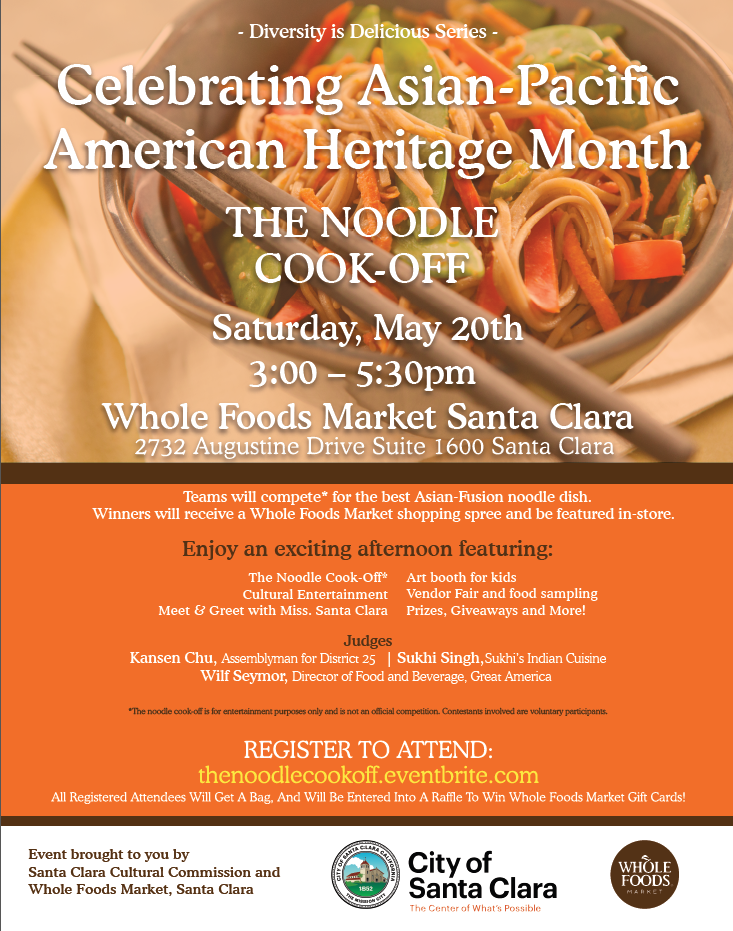 May 20th Noodle Cook Off
