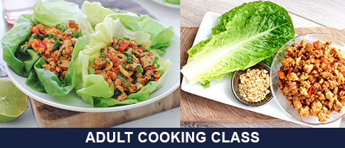 Healthy Asian Cooking with Chef Cory - Chicken Lettuce Wrap