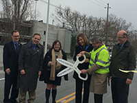 Old Mtn View Road Bridge Ribbon Cutting