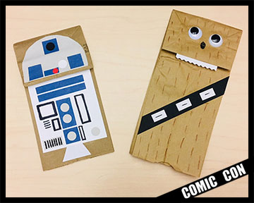 Chewie R2 paper bags