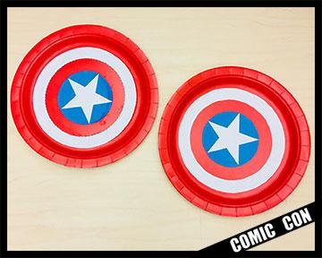 Paper Plate Shields