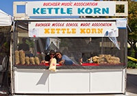 2013 -  Food Kettle Korn booth