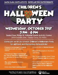 2018 Halloween Party event, children, YAC, halloween