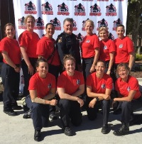 Firefighters Girls Camp
