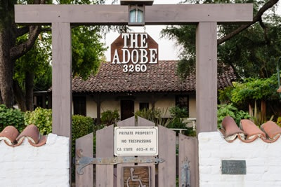 Womens Club Adobe Gate