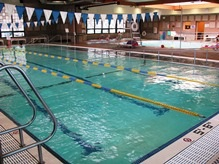 Three lane lap pool