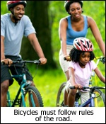 Tips: Bicycles and Rules of the Road