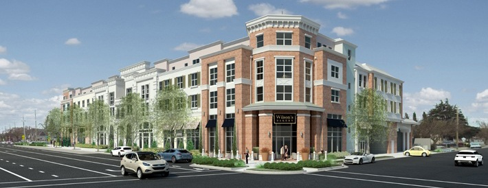 Downtown Gateway Rendering - Corner of Monroe & Benton