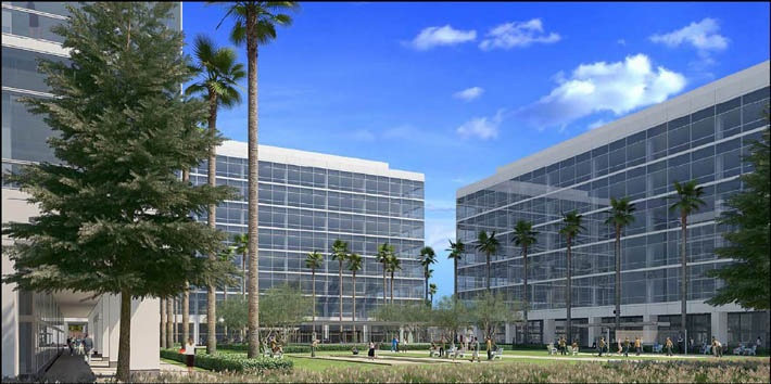 Office Phase II & II Rendering