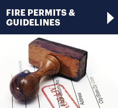 fire permits and guidelines