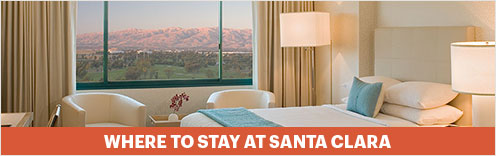 Where to Stay at Santa Clara