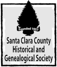 Santa Clara County Historical And Genealogical Society Logo