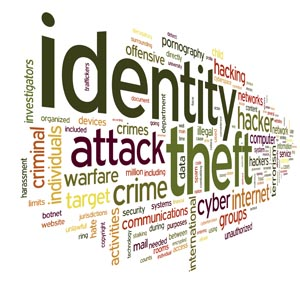 Identity Theft in Word Tag Cloud