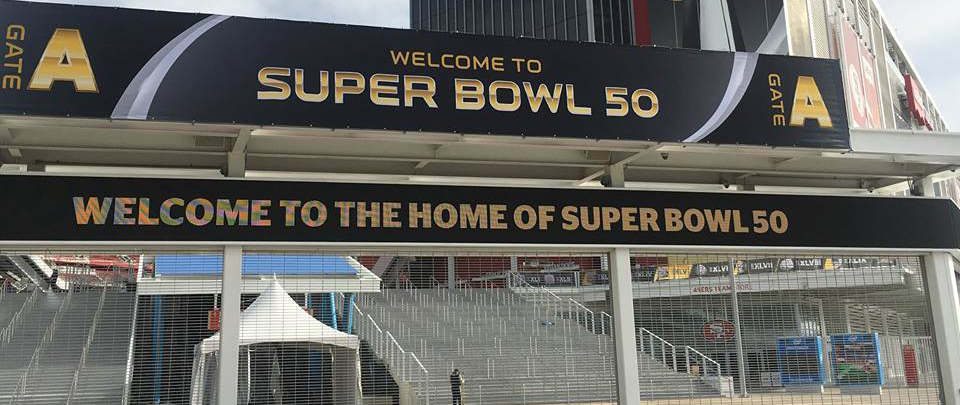 Gate at Levis Stadium Super Bowl