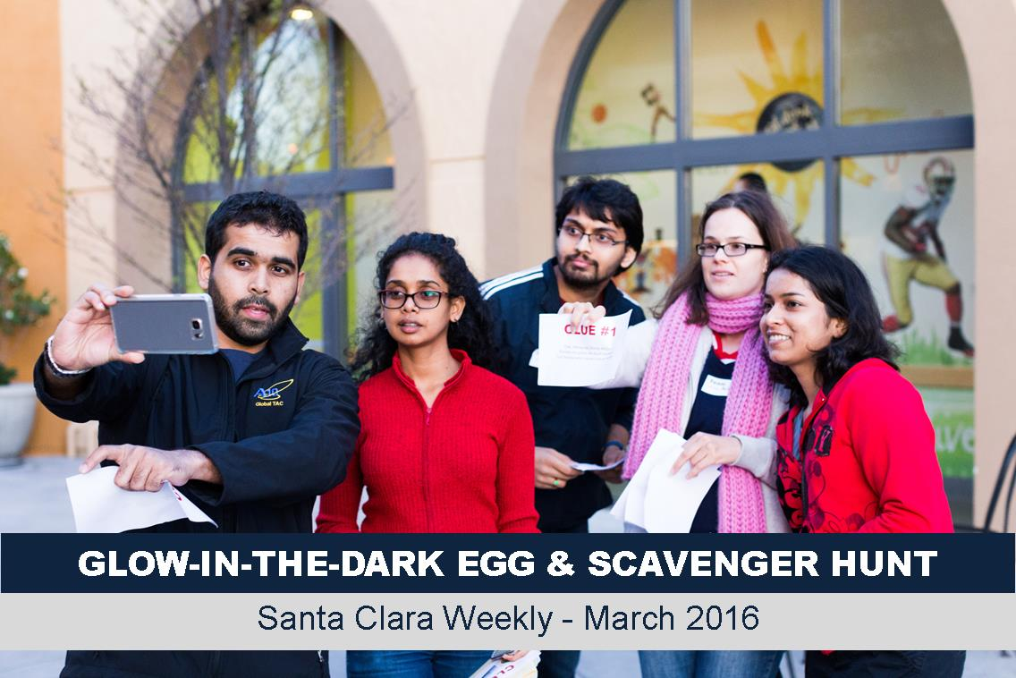 Glow in the Dark Egg and Scavenger Hunt