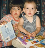 Research on Early Lit: Two Young Children Reading