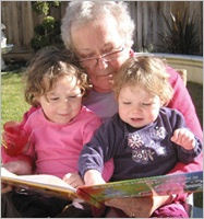 Tips to Make Your Child Smarter: Grandpa Reading to Children