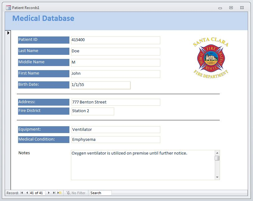 Medical Database Image