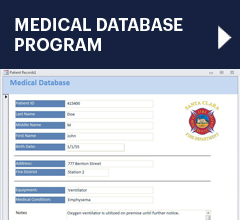 Medical Database program