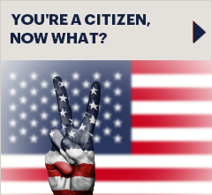 Button: Steps you take after becoming a Citizen
