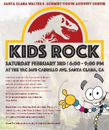 February 3rd Kids Rock flyer