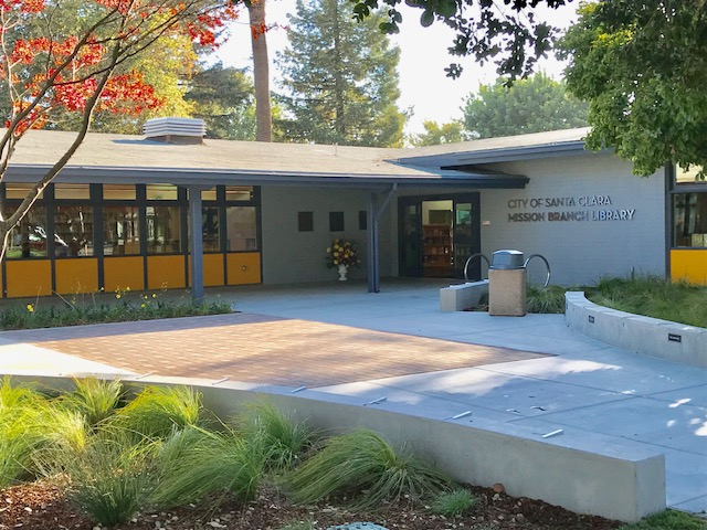 Mission Library Exterior Picture