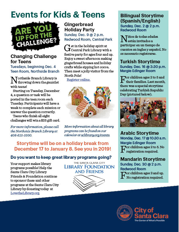 Events Calendar | City of Santa Clara