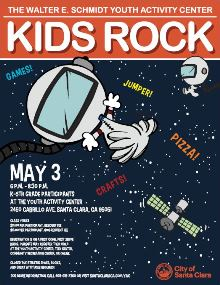 Kids Rock, May 3rd, YAC, elementary school, k-5th grade, kids