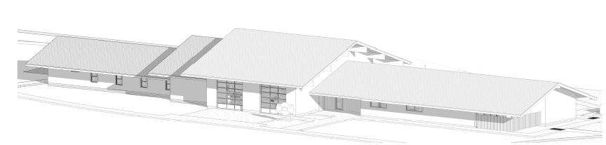 Fire Station 8 rendering