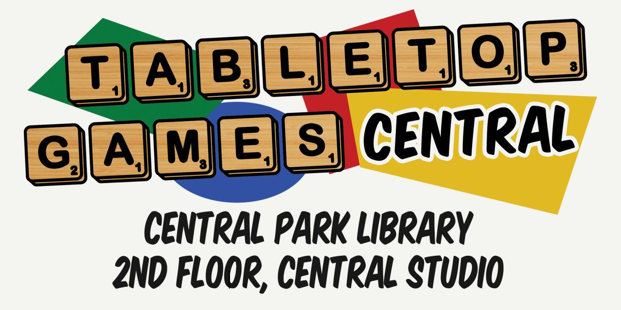 Tabletop Games Central Eventbrite