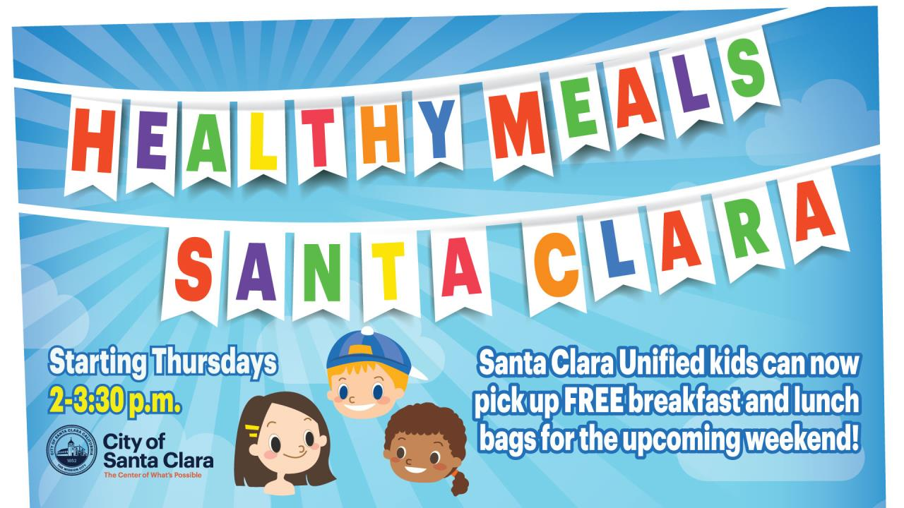 Healthy Santa Clara Meals for SCUSD