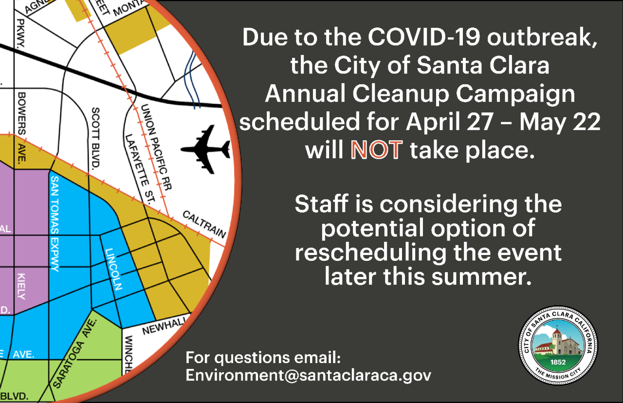 2020 Cleanup Campaign Canceled