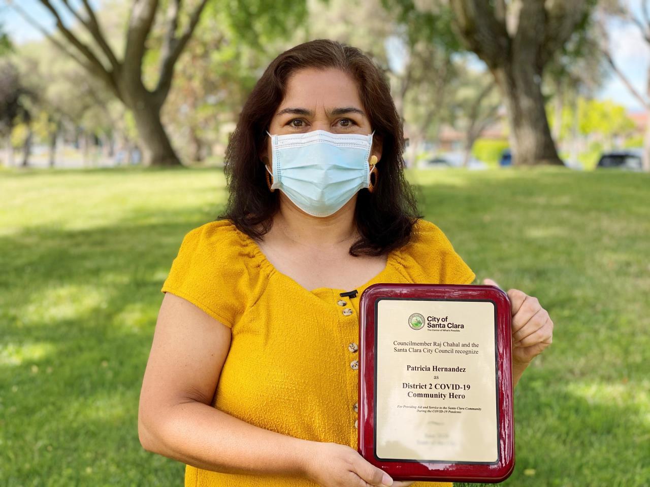 District 2 Patricia Hernandez