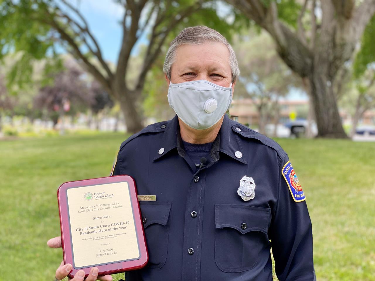 Steve Silva COVID19 Pandemic Hero of the Year