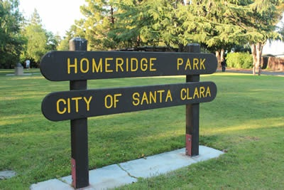 Homeridge Park Sign