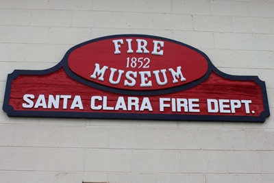 Fire Museum Sign