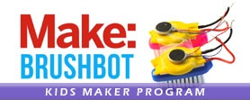 Kids.Program.Make.Brushbots