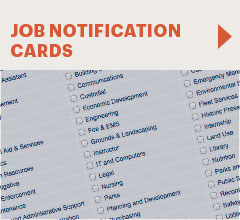 job notification cards