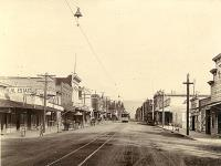 Franklin Street Santa Clara in 1890s