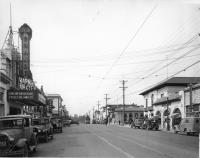 Downtown Santa Clara 1930s