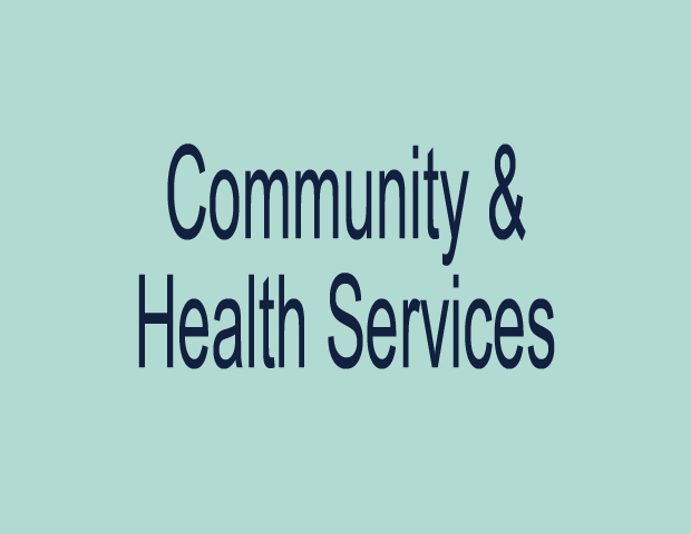 Community and Health Services